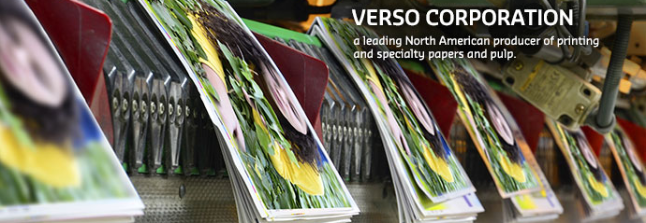 Verso Corporation Banner Image