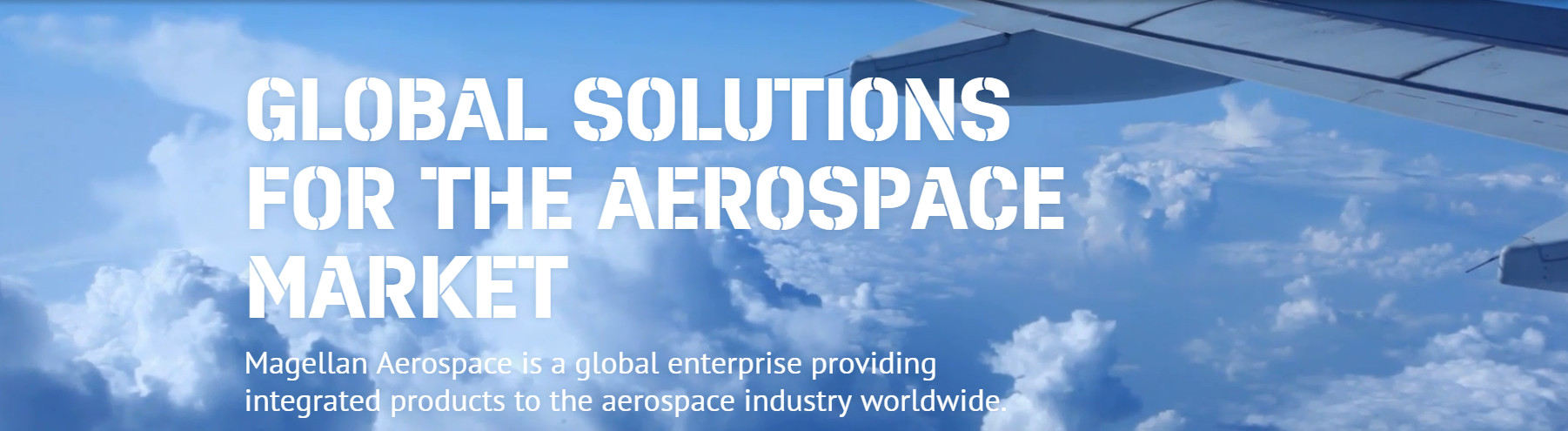 Magellan Aerospace Corporation Banner Image