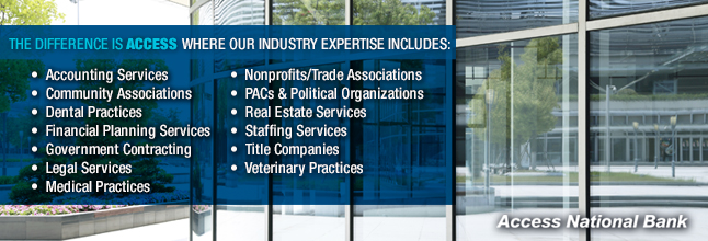 Access National Corp Banner Image