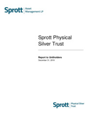Sprott Physical Silver Trust