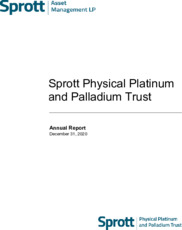 Sprott Physical Platinum and Palladium Trust