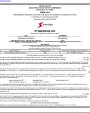 Stoneridge, Inc.