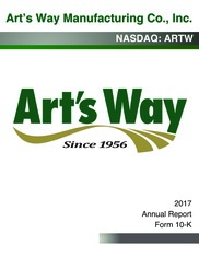 Art's-Way Manufacturing Co. Inc.