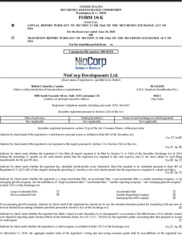 Niocorp Developments Ltd.