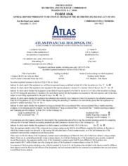 Atlas Financial Holdings Inc