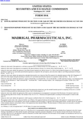 Madrigal Pharmaceuticals, Inc.