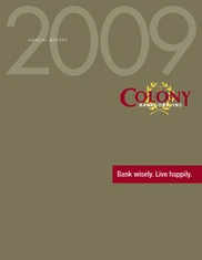 Colony Bankcorp Inc.