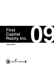 First Capital Realty Inc.