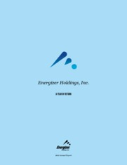 Energizer Holdings Inc.