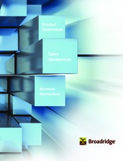 Broadridge Financial Solutions Inc.