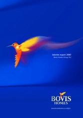 Bovis Homes Group plc