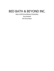 Bed Bath & Beyond Inc.