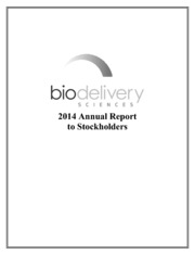 BioDelivery Sciences International Inc