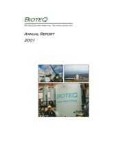 BioteQ Environmental Technologies Inc.