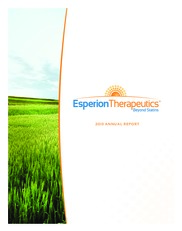 Esperion Therapeutics Inc