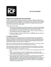 ICF International Inc.