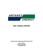 Antares Energy Limited
