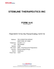 Stemline Therapeutics