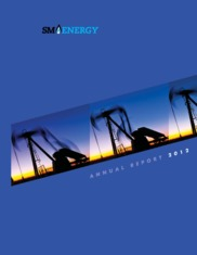 sm energy buisness report Prior to sm, she spent three years supporting small to medium size oil and gas  she also served as the copas-colorado financial reporting committee  responsible for engaging clients for the business advisory service (bas).