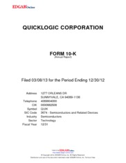QuickLogic Corporation