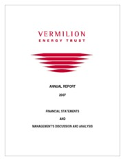 Vermilion Energy Inc.