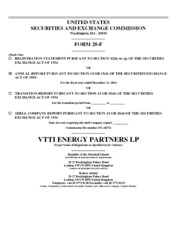 VTTI Energy Partners LP