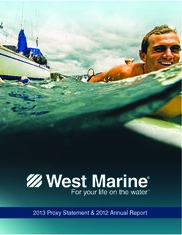 West Marine Inc.