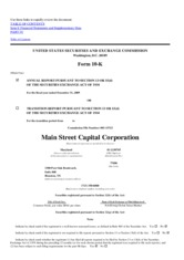 Main Street Capital Corporation