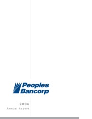 Peoples Bancorp Inc.