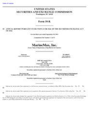 Marinemax Inc.