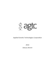 Applied Genetic Technologies Corp