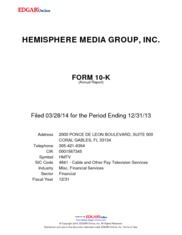 Hemisphere Media Group