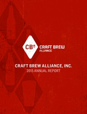 Craft Brew Alliance Inc