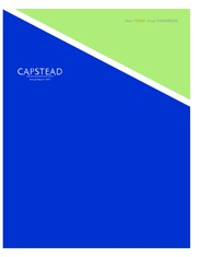 Capstead Mortgage Corporation