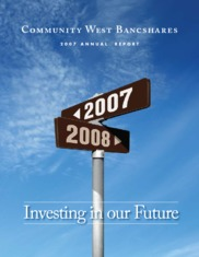 Community West Bancshares