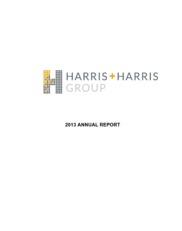 Harris & Harris Group, Inc.