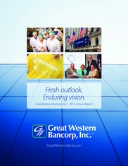 Great Western Bancorp Inc
