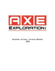 Axe Exploration