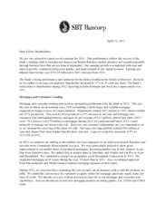 SBT Bancorp, Inc.