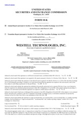 Westell Technologies Inc