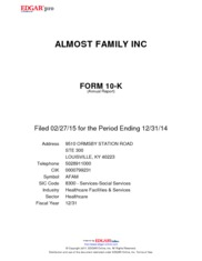Almost Family, Inc.