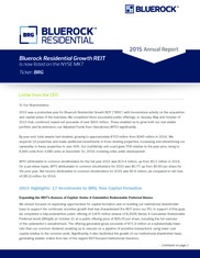 Bluerock Residential Growth REIT Inc