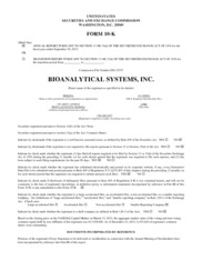 Bioanalytical Systems Inc.