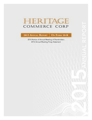 Heritage Commerce Corp.