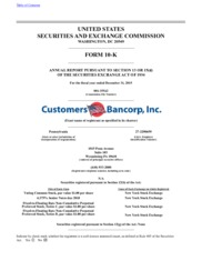 Customers Bancorp Inc
