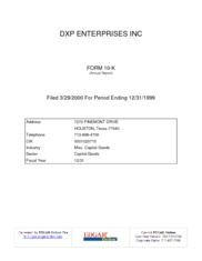 DXP Enterprises Inc.