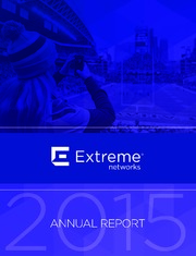 Extreme Networks, Inc
