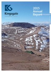 Kingsgate Consolidated Limited