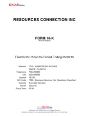 Resources Connection Inc.