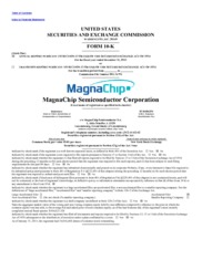 MagnaChip Semiconductor Corporation